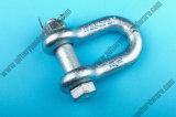 Galvanizado nos tipo abrazadera de cuerda marina del hardware/de alambre del torniquete maleable