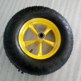 異なった車輪が付いているイラクの市場の手押し車Wb6400A