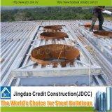 Edificio prefabricado del granero de la estructura de acero industrial