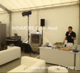 Industrielle bewegliche Luft-Kühlvorrichtung/industrielle Klimaanlage/abkühlende Maschine mit Wasser-Becken u. LCD-entfernter Station