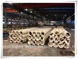 Buis van het aluminium en het Pijp Gegalvaniseerde Staal perforeerden Vierkante Buis