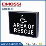 Muestra de seguridad de una sola pieza del método de la cubierta AVB del LED