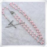 De nieuwe Katholieke Rozentuin van de Halsbanden van de Rozentuin van de Manier Godsdienstige Plastic Dwars (iO-Cr257)