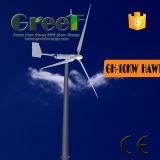 Самая лучшая ветротурбина оси цены 0.3-30kw горизонтальная для сбываний