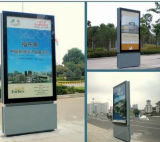 84inch Floor Standing LCD Outdoor Advertizing Kiosk