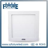 9W luz del panel de aluminio al por mayor del redondo LED para el techo