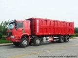 40 톤 HOWO 8*4 팁 주는 사람 덤프 트럭