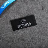 Etiqueta tecida da tela vestuário feito sob encomenda high-density para homens
