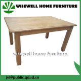Móveis de sala de jantar em madeira de carvalho com 4 cadeiras (W-DF-0688)