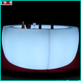 LEDの丸棒表の円形カウンタークラブ表