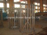 محطّة فرعيّة بنية أساس مع يغلفن فولاذ