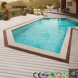 Assoalho composto Grooved antiderrapante do Decking da piscina