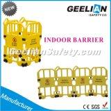 Barrera de la cerca de la construcción/cerca retractable/barrera retractable