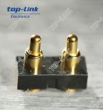 2p FlachPogo Pin-Verbinder mit Gehäuse