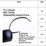 Neuer Entwurfs-attraktives Fliegen-Fischen, das Haken bindet