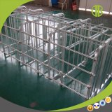 Box van het Varken van de Box van de Zeug van het Krat van de Zwangerschap van het Gebruik van de varkensfokkerij de Hete Gegalvaniseerde