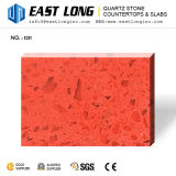 青の卸し売り設計された石造りの平板または虚栄心の上のための光っている磨かれた水晶石
