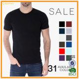 Habillement blanc de T-shirt d'homme de qualité