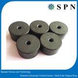 Anello a magnete permanente di ceramica del motore del ferrito per i motori del micro di industria
