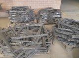 Cage de crabot de fil soudée par métal