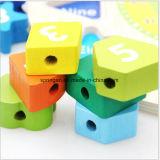 Wooden Intelectual Puzzle Toys Clock 3D