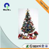 Vert Film PVC pour les arbres de Noël