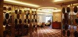 Folha decorativa do aço inoxidável da cor do Ti-Ouro para o quarto de convidado do hotel