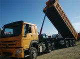 HOWO 트랙터 트럭과 반 덤프 트럭 트레일러
