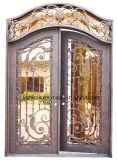 رف جميل زخرفي حديد [إنتري دوور] تصميم مع أسلوب كلاسيكيّة