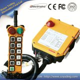Controlador industrial sem fio de controle remoto elétrico da grua Chain F24-10s Radio Remote