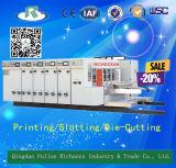 Automatischer Hochgeschwindigkeitswasser-Tinten-Drucker Slotter stempelschneidene Maschine