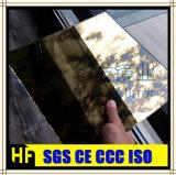 منزل زخرفيّة مرآة ذهبيّة لون مرآة أثاث لازم مرآة زجاجيّة إيطاليا أسلوب مرآة