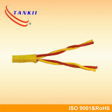Cabo de extensão de par termoeléctrico isolado borracha KX do cabo do silicone TX EX JX