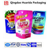 Sacchetti di imballaggio di plastica per il detersivo di lavanderia con il marchio del cliente