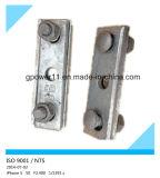 Clip apropiado galvanizado del individuo del cable de la INMERSIÓN caliente