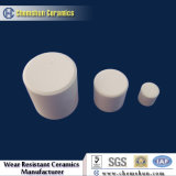 Chemshun 95% Alumina Ceramic Cylindrical Rod Used in Chemical Industry