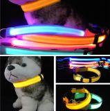 LED 빛을%s 가진 애완 동물 지도 또는 애완 동물 고리 또는 개 목걸이