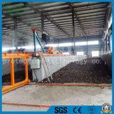 Il fornitore fornisce diritto alla macchina/pollo della composta di girata del maiale le girate di fabbricazione che del fertilizzante del concime falciano
