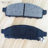차는 미츠비시를 위한 브레이크 패드 (D1519 GDB3435)를 분해한다