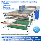 Machine d'impression automatique de presse de transfert thermique de sublimation de rouleau