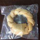 De gekleurde Ring van Donuts van de Vlecht van de Ongelooide huid van het Aroma van het Bacon/van het Lam/van het Rundvlees voor Hond