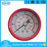 50mm Factory Price Red Steel Case Manometer