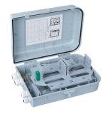 12 Núcleo de fibra óptica FTTH caja de terminales