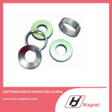 Sechseckiger Ring NdFeB Magnet der seltenen Massen-N52 permanenter mit Superenergie