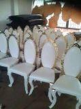 تصميم جديدة حديثة ذهبيّة [ستينلسّ ستيل فرم] [بو] يتعشّى كرسي تثبيت