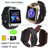 Reloj elegante del regalo Dz09 Bluetooth de la promoción con la cámara de los 2.0m