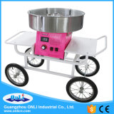 Chariot électrique commercial de machine de soie de sucrerie de coton