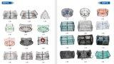 Het Net van de visserij, de Mand van de Krab - (B012)