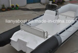 Liya 5.2 Fiberglas-Rumpf CER Rippen-Boot des Meter-tiefes V für Verkauf