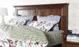 Festes hölzernes Bett-moderne doppelte Betten (M-X2253)